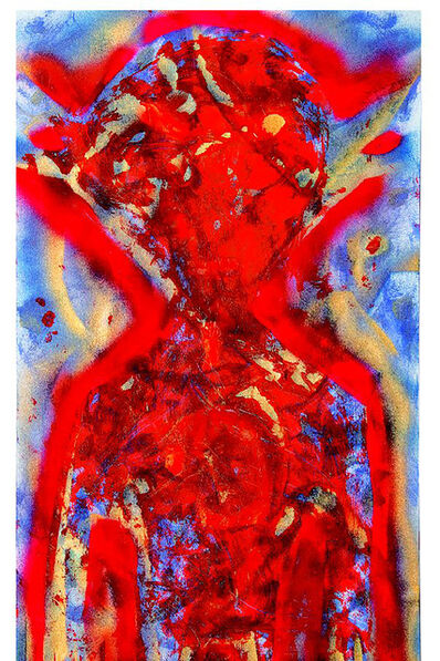 William S. Burroughs, 'The Melting Red Disease', 1988