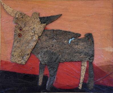 Roberto Crippa, 'Gold animals', 1971