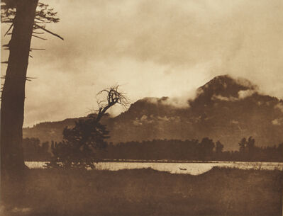 Edward S. Curtis, 'Evening On The Columbia', 1907-1930