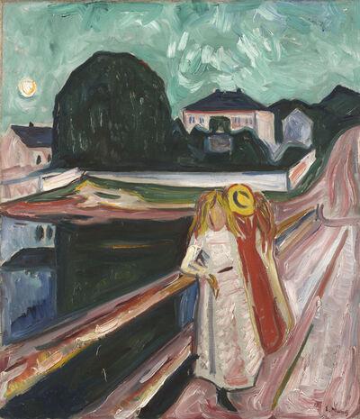 Edvard Munch, 'Girls on a Pier', ca. 1904