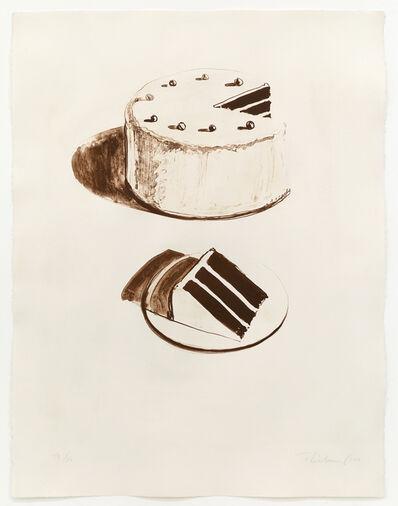 Wayne Thiebaud, 'Chocolate Cake', 1971