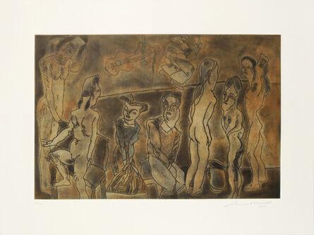 Jose Luis Cuevas, 'Las cortesanas I', 2002