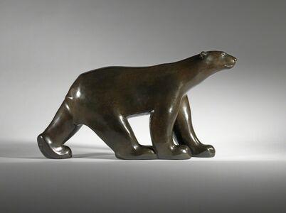 François Pompon, 'Walking Polar bear', 1925