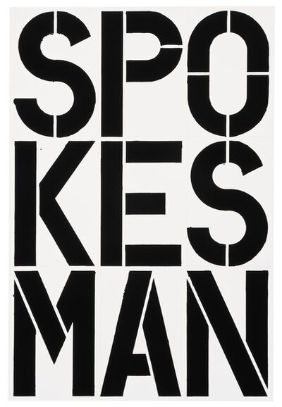 Christopher Wool, 'Untitled', 1989