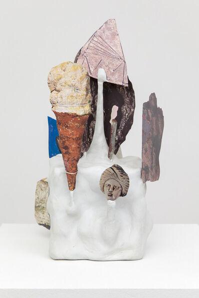 Geoffrey Farmer, 'Bozzetto Brick Work, Funky Delft with Drop Cone.', 2013