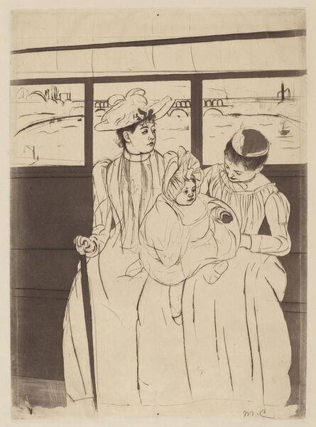 Mary Cassatt, 'In the Omnibus', ca. 1891