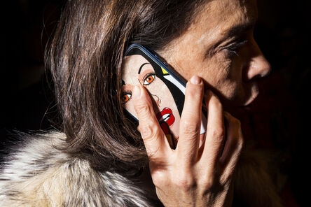 Landon Nordeman, 'Acne Studios (Lady on Phone)', 2016