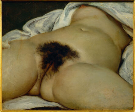 Gustave Courbet, 'The Origin of the World', 1866