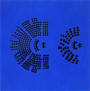 Guillermo Kuitca, 'Nocturnes (Congressional Seats)', 2002