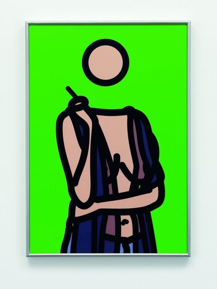 Julian Opie, 'Ruth with Cigarette 5 (Artist Proof)', 2005