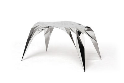 Zhoujie Zhang, 'Arch Table in Stainless Steel', 2011