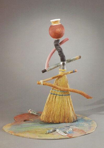Richard Shaw, 'Broom and Palatte Bottle'