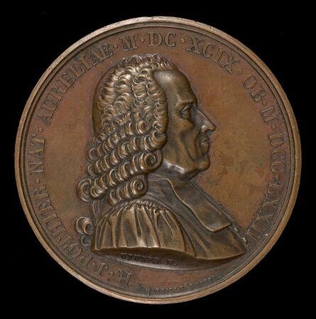 Mathias-Nicholas-Marie Vivier, 'Robert-Joseph Pothier, 1699-1772, Jurist and Professor [obverse]', 1823