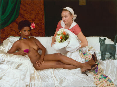 E2 - KLEINVELD & JULIEN, 'Ode to Manet's Olympia', 2011