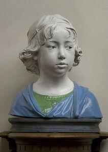 Andrea della Robbia, 'Bust of a Young Boy', ca. 1475