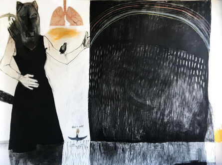 Suzy O'Mullane, 'Black Rainbow ', 2020
