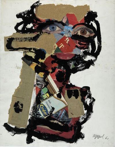 Karel Appel, 'Visage de femme', 1961
