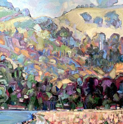 James Hartman, 'Berkeley Hills From The Marina', 2020