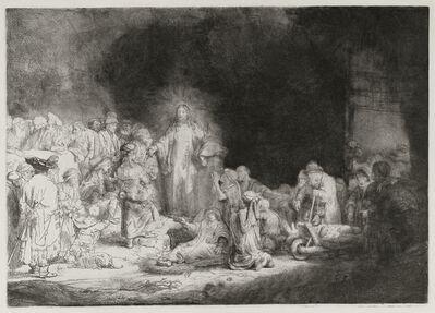 Rembrandt van Rijn, 'The Hundred guilders print', 1648