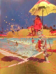 Lucinda Metcalfe, 'Lifeguard ', 2017