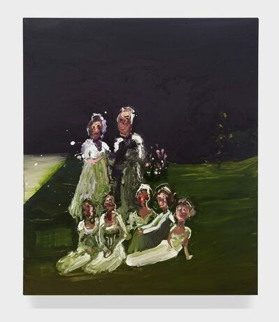 Genieve Figgis, 'Family in the grass', 2015