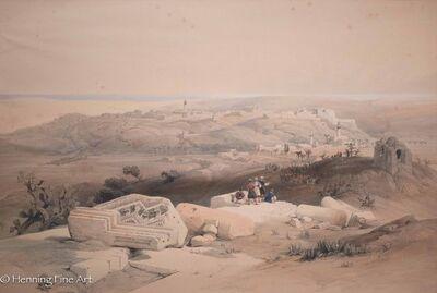 David Roberts, 'Gaza, March 21st 1839', 1839