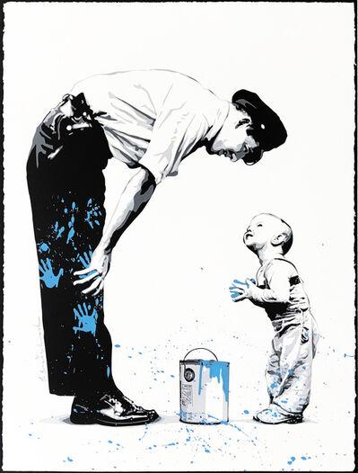Mr. Brainwash, 'NOT GUILTY (BLUE)', 2011
