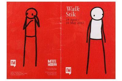 Stik, 'Walk (Doodled Catalogue)', 2012