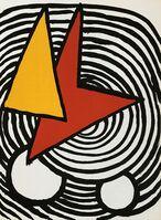 Alexander Calder, 'Alexander Calder Derrière le Miroir lithograph (1970s Calder prints)', 1973