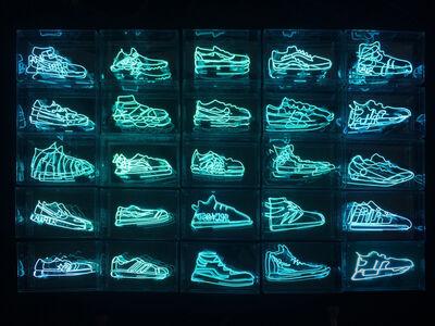 Alê Jordão, 'Sneaker Neon', 2018