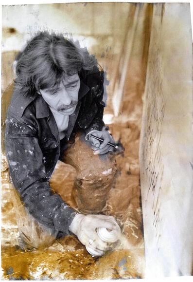 Ute Schendel, 'Walter Stöhrer (Photo taken Nordhorn 1982, sulfur toned Frankfurt am Main 1983), Vintage', 1982