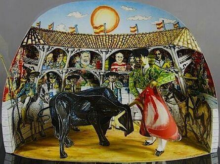 Red Grooms, 'Los Aficionados', 1990