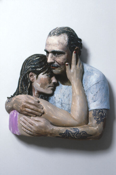 John Ahearn, 'Ron and Lucy I (serious)', 1993