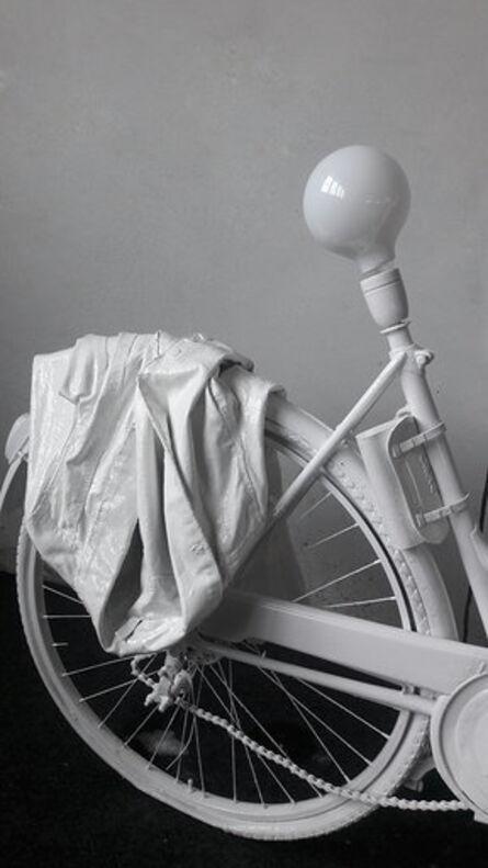 Erika Calesini, 'Bici Lamp White', 2018