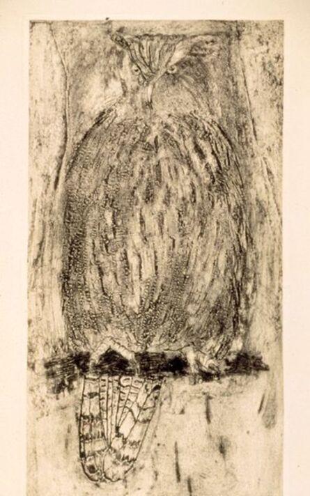 Jim Dine, 'White Owl (For Alan)', 1994