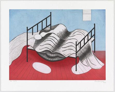 Louise Bourgeois, 'Le Lit Gros Edredon (with lips)', 1997