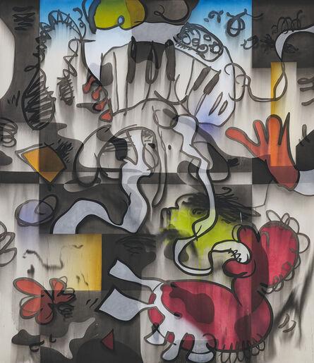Jan-Ole Schiemann, 'Synth.Hor. - Red Shoe', 2018