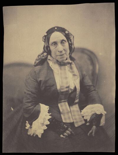 Nadar, 'Portrait of Marceline Desbordes-Valmore', 1854