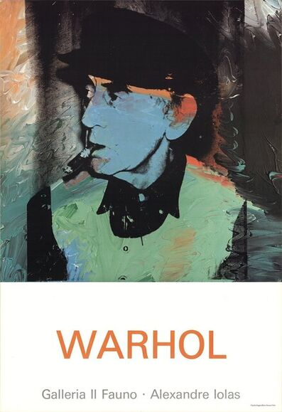 Andy Warhol, 'Portrait of Man Ray', 1980