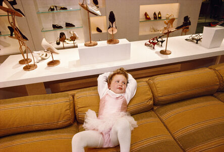 Lauren Greenfield, 'Phoebe, 3, at the VIP opening of Barneys department store in Beverly Hills, California', 1994