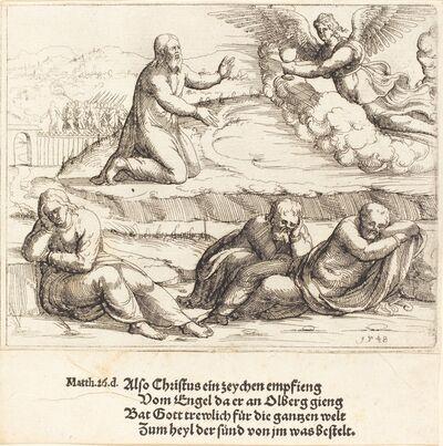 Augustin Hirschvogel, 'The Agony in the Garden', 1548