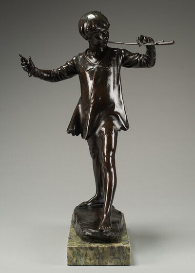 GEORGE FRAMPTON, 'Peter Pan', Conceived and cast 1911