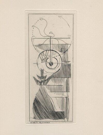 Marcel Duchamp, ' Coffee Mill', 1947