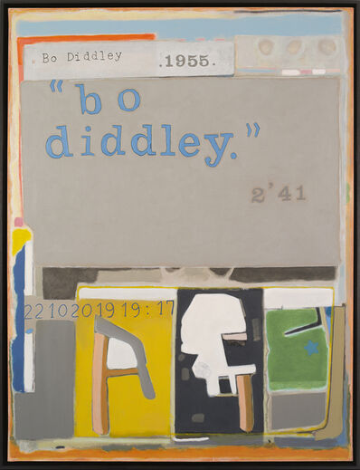 Jean-Michel Alberola, 'Bo Diddley', 2020