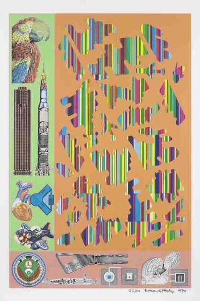 Eduardo Paolozzi, 'Human Fate and World Powers', 1970