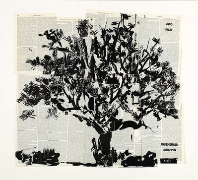 William Kentridge, 'Universal Archive (Big Tree)', 2012