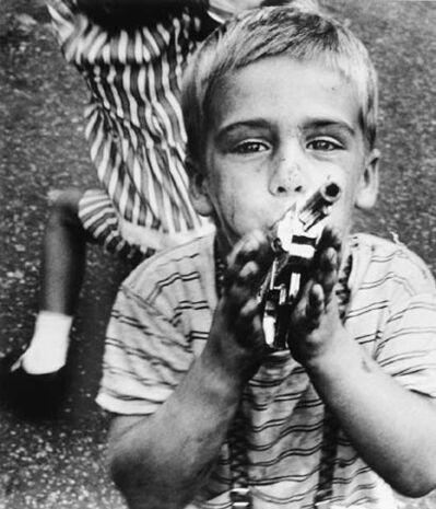 William Klein, 'Gun 4, New York', 1955