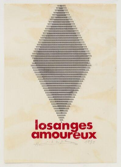 Henri Chopin, 'Losanges Amoureux', 1980