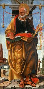 Francesco del Cossa, 'Saint Peter', 1472-1473