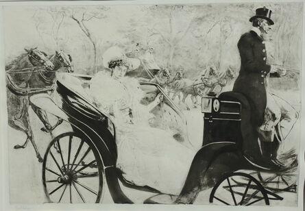 Edgar Chahine, 'La Promenade', 1902